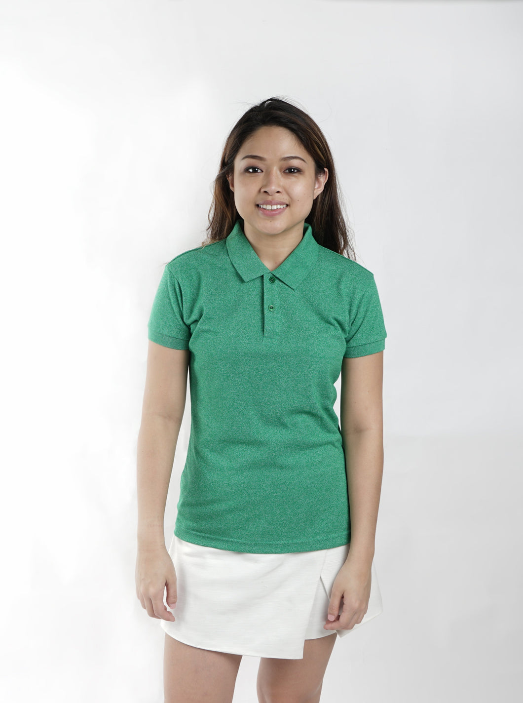 Acid Energy Green Classique Plain Women's Polo Shirt
