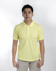 Egg Yellow Classique Plain Polo Shirt