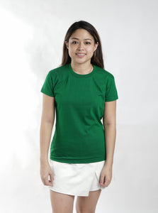 Emerald Green Sun Plain Women's T-Shirt