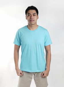 Persian Blue Sun Plain T-Shirt