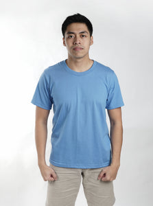 Light Sky Blue Sun Plain T-Shirt