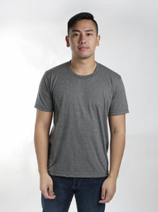 Acid Gray Sun Plain T-Shirt
