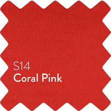 Load image into Gallery viewer, Coral Pink Sun Plain T-Shirt