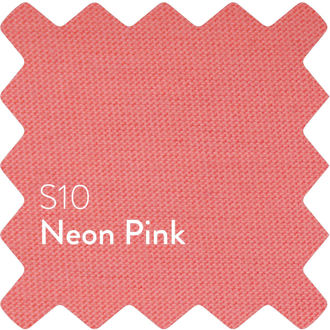 Neon Pink Sun Plain Women's T-Shirt