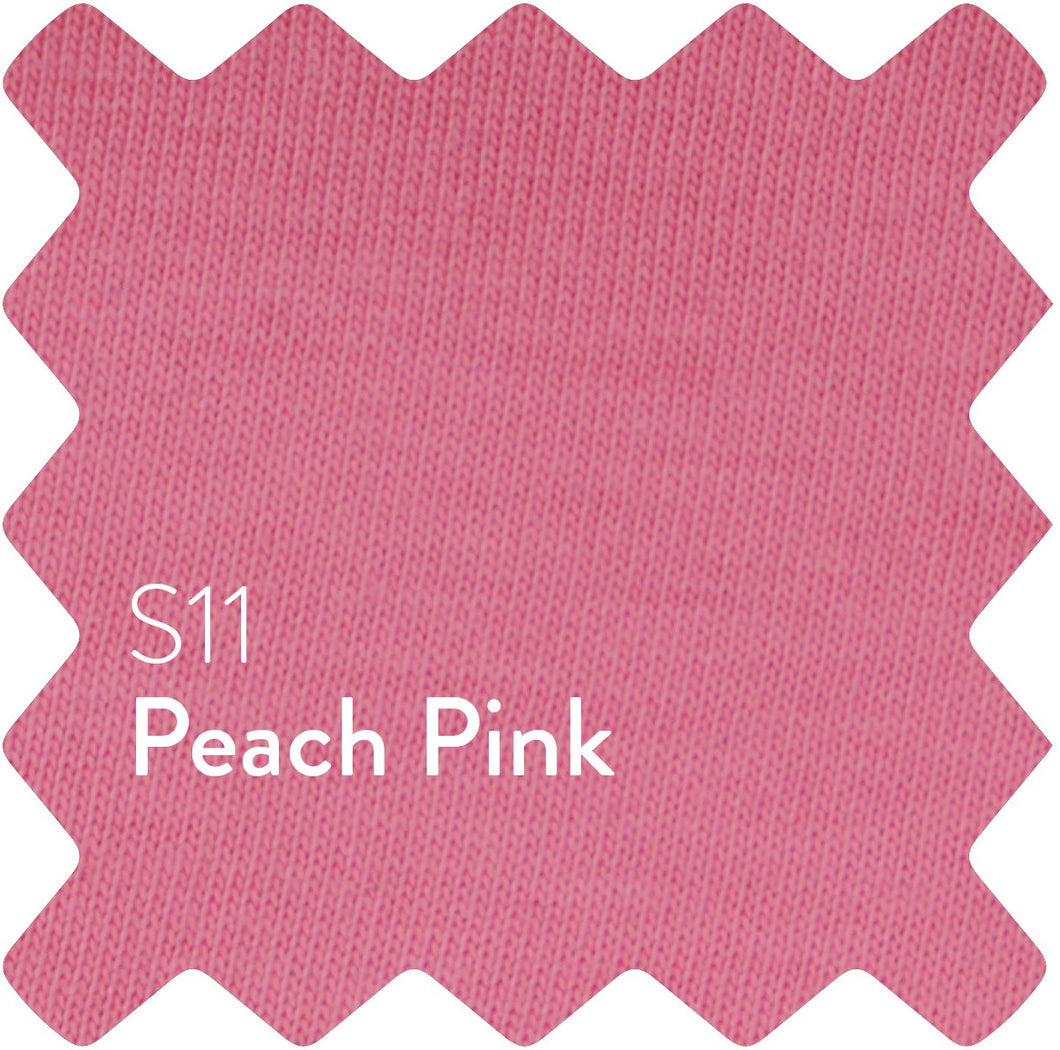 Peach Pink Sun Plain Women's T-Shirt