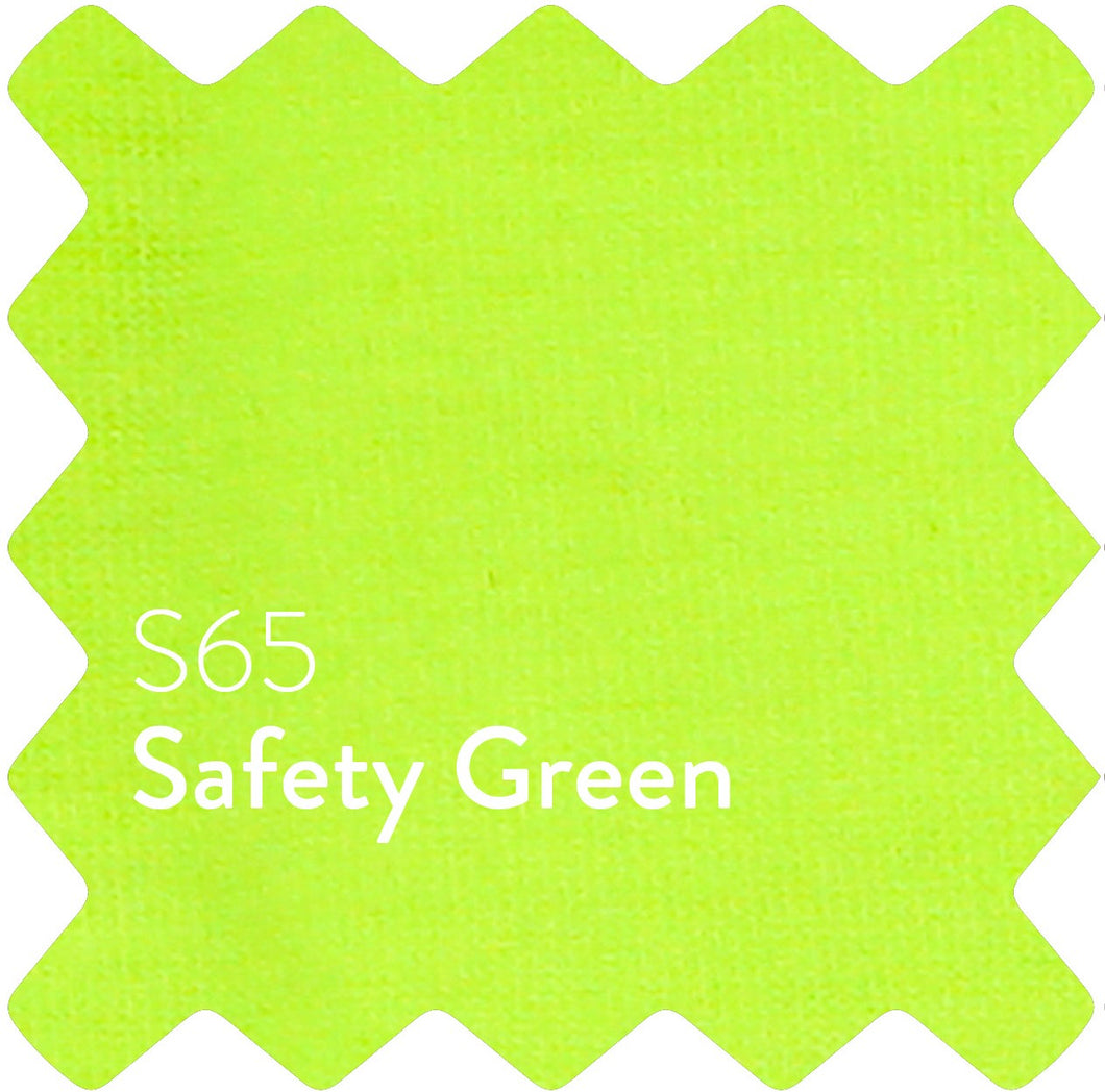 Safety Green Sun Plain T-Shirt