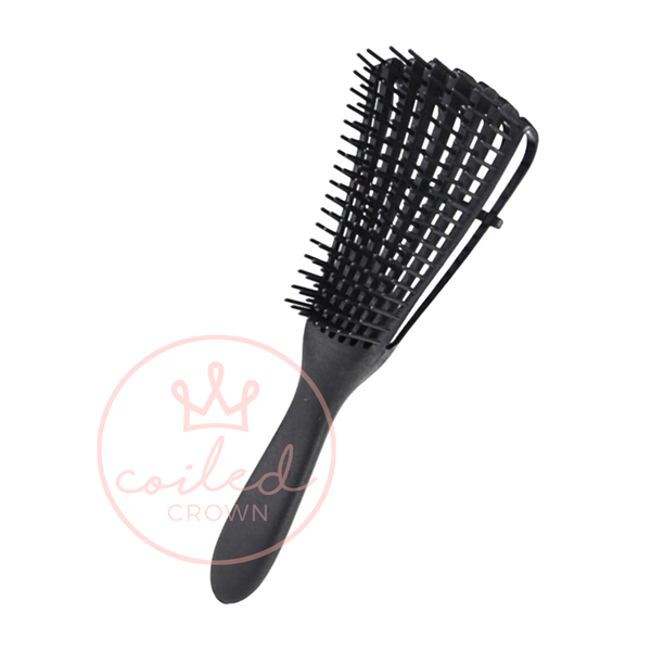 Coiled Crown Flexy Brush - Dentangling Brush for Curly, Coily, or Kinky Hair!