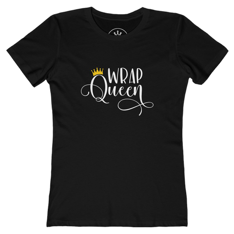 Wrap Queen - Natural Hair T-Shirt | Coiled Crown