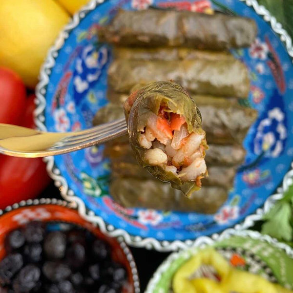 Dolma/Sarma (stuffed vine leaves) by Zali's cooking