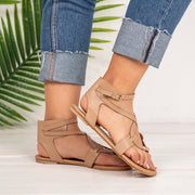 Pu Flat Heel Daily Shoes
