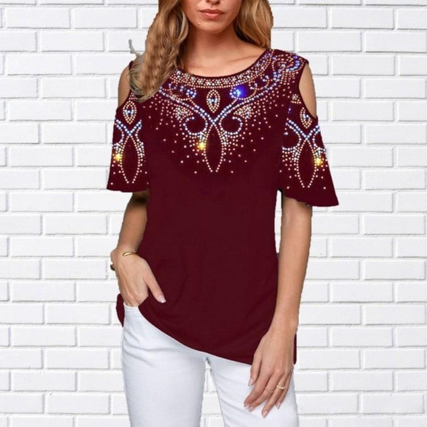 2020 Summer Hot Sale Women Casual Print Tee