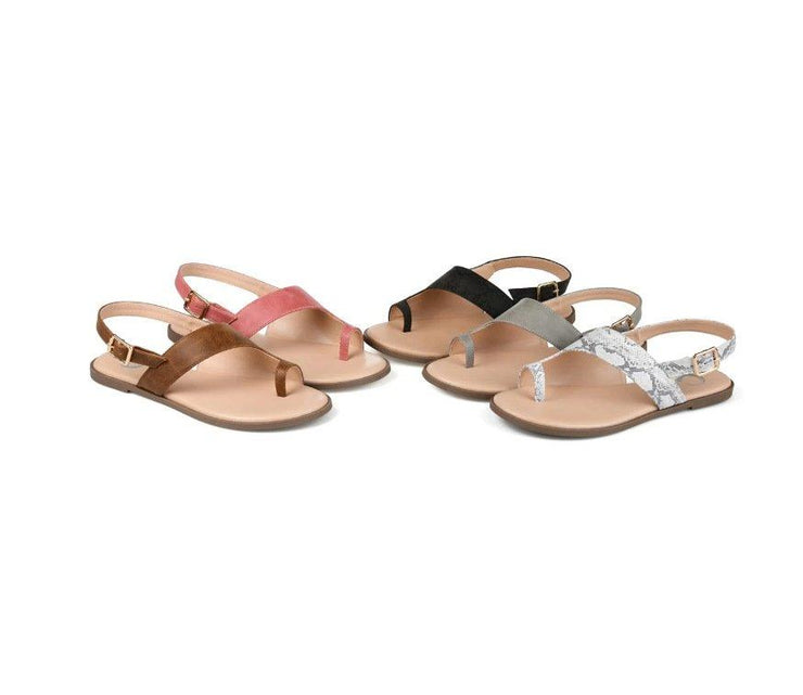 Summer Artificial Leather Sandals