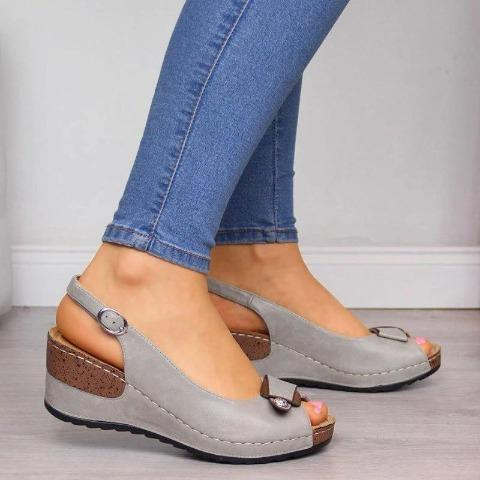 2020 Brand NewComfy Casual Wedge Heel Sandals