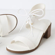 Pi Clue Tassel Seaside Block Heel Sandals