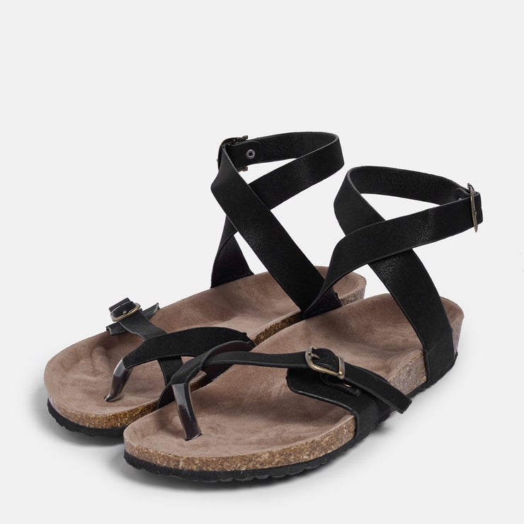 Ankle Strap Buckle Flip Flop Gladiator Thong Flat Sandals