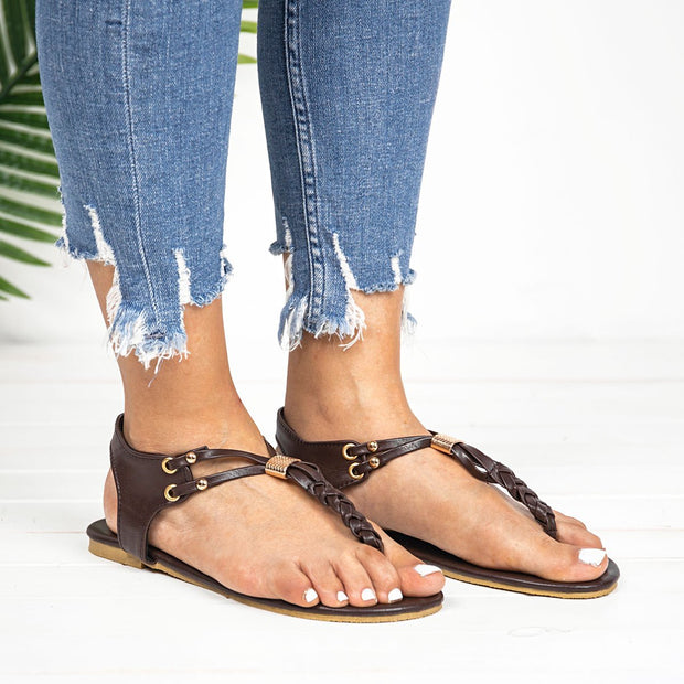 Women Flat Sandals Fashion Casual Flip Flops