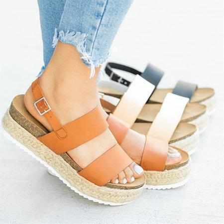 Buckle Casual Sandals