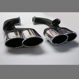 Mercedes Benz ML Rear Apron and Oval Dual Exhaust Tips Conversion by Hofele