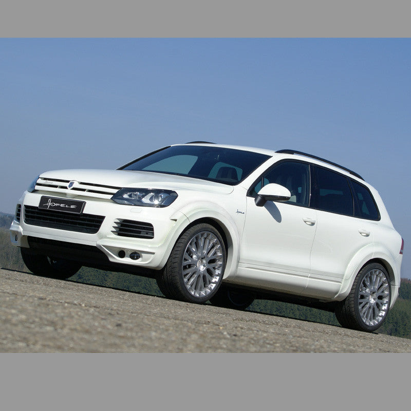 VW Touareg II Wide Body Kit ROYAL GT 470 by Hofele includes the Hofele Grill, Rear Apron and Exhaust Tips