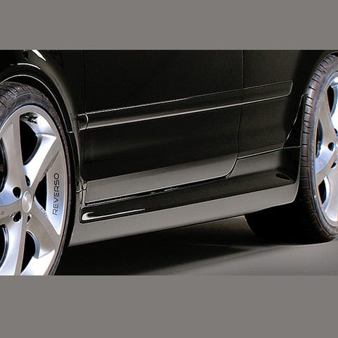 Audi A4 Side Skirts in RS4-Look for B6 Cabriolet