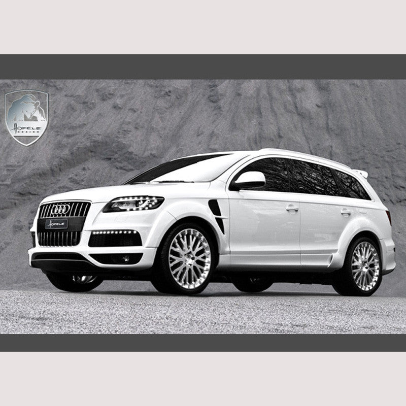 "Audi Q7 Wide-Body Wheel Arch Extension Kit ""Sporter Facelift"""