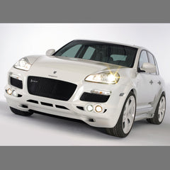 Porsche Cayenne 957 Front Bumper Conversion with Light Package by Hofele