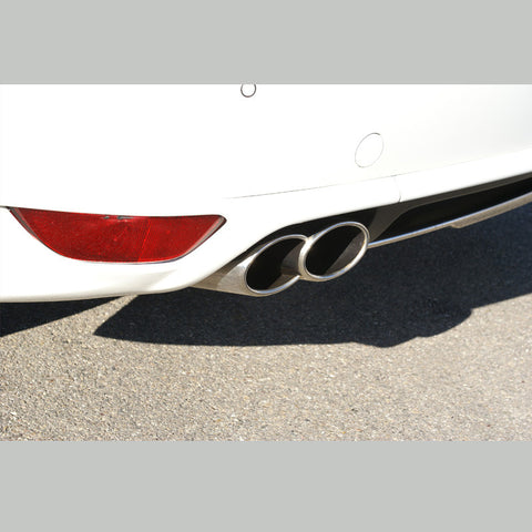 Porsche Cayenne Oval Double Tailpipes by Hofele