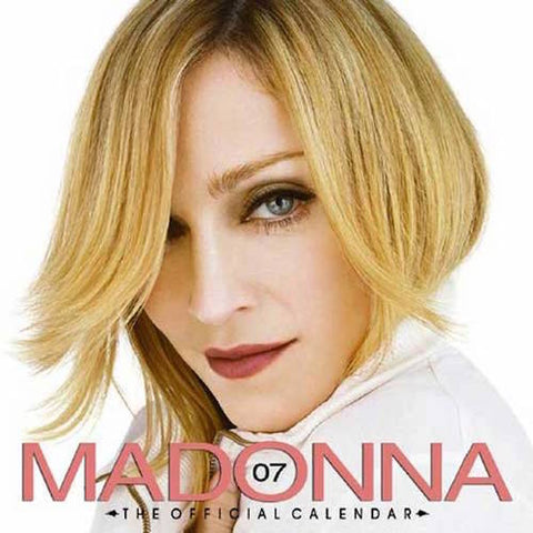 Madonna 2007 Official Calendar NEW