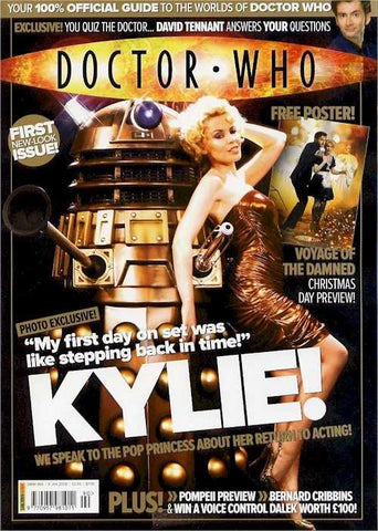 "Doctor Who Magazine (U.K.) - Issue 390 - ""The Kylie Issue"""