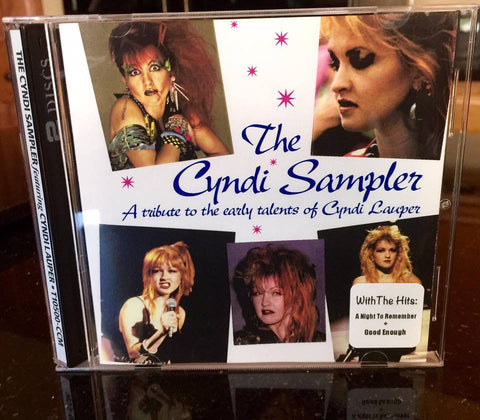 Cyndi Lauper - The Cyndi Sampler (B-sides, rarities, Blue Angel) Double CD