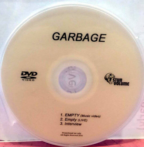 Garbage - Empty Music Video Single - DVD