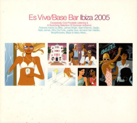 Hed Kandi - Es Vive/Base Bar Ibiza 2005 - Import 3CD