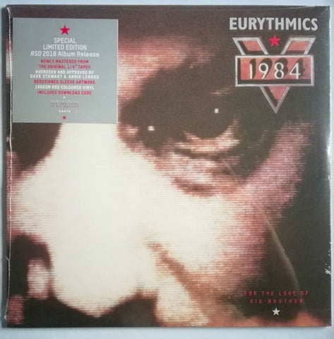 Eurythmics - 1984 soundtrack RSD 2018 RED vinyl