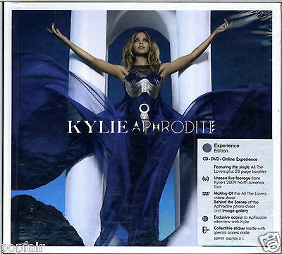 Kylie Minogue Aphrodite (Experience EDITION) (CD With DVD) IMPORT  Deluxe Version  - New