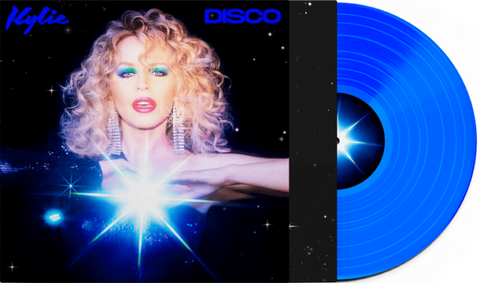 Kylie Minogue - DISCO (Blue Vinyl) New/sealed LP