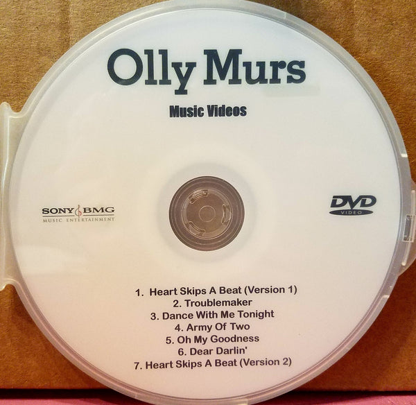 Olly Murs - Music Videos - DVD