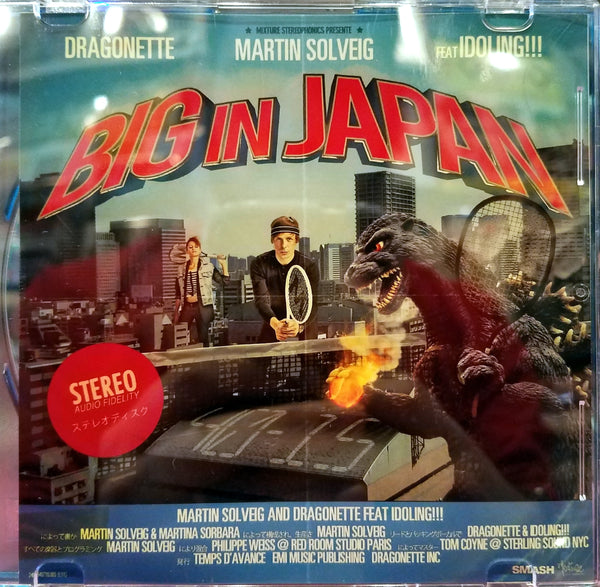 Martin Solveig & Dragonette feat. Idoling!!! - Big In Japan - Remix CD Single
