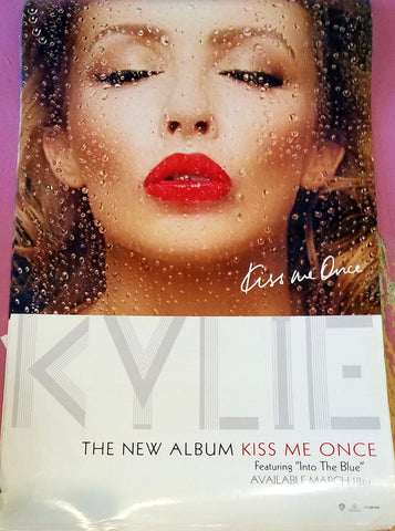 "Kylie Minogue - Kiss Me Once Official USA POSTER 14""x22"""