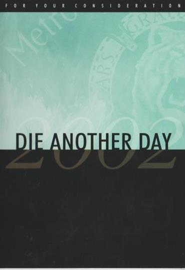 Die Another Day: For Your Consideration DVD (Madonna)