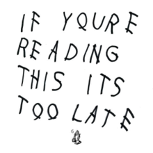 Drake - If you're reading this it's too late - LP VINYL = New