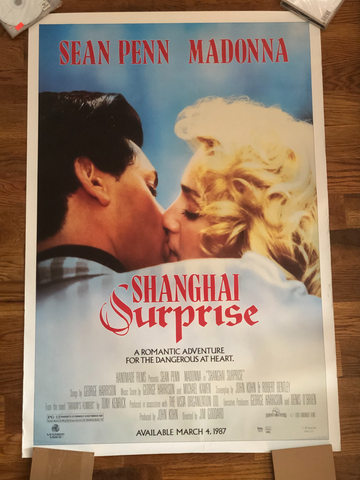 Madonna -Shanghai Surprise - 1986 Original 27X40 Movie Poster