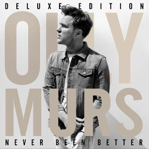 Olly Murs - Never Been Better - Deluxe Edition CD