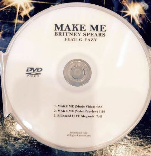 Britney Spears - MAKE ME DVD single + LIVE performance