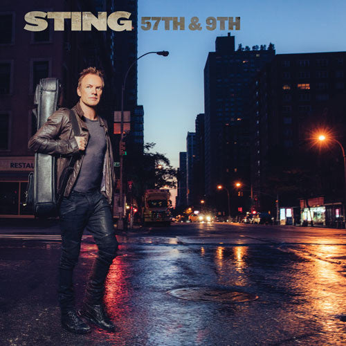 Sting - 57th & 9th  LP VINYL