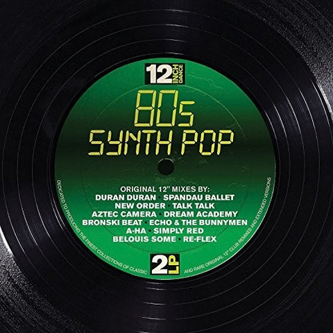 12 Inch Dance: 80s Synthpop / Various [Import] 3 CD