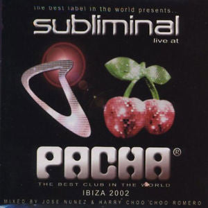 Various - Subliminal Live at Pacha: Ibiza 2002 - 2CD+DVD