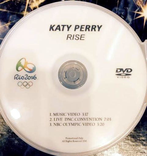 "Katy Perry - DVD single ""RISE"" + LIVE"
