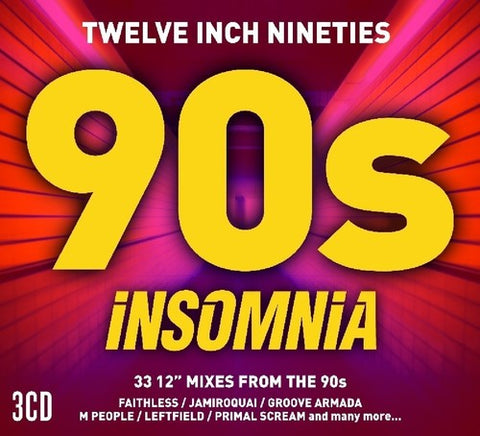 Twelve Inch 90s: Insomnia 3 CD set (Import)