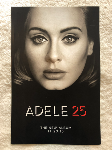 Adele - 25 - Promo Poster