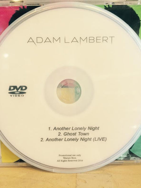 Adam Lambert DVD music videos + LIVE (NTSC)